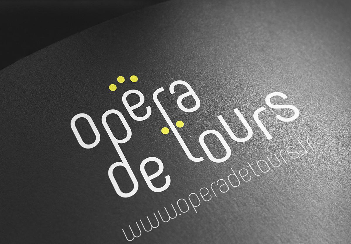 opéra de tours refonte identité visuelle