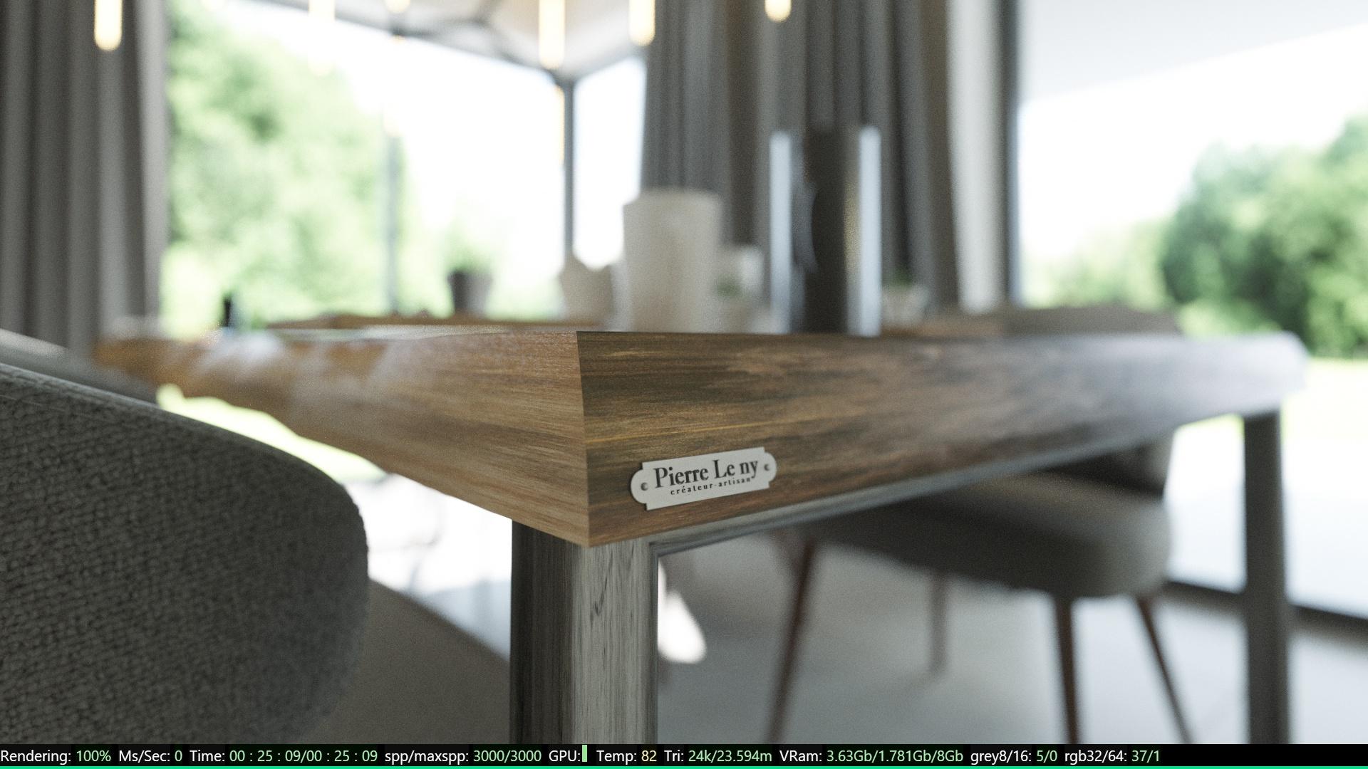 table leny bluecat